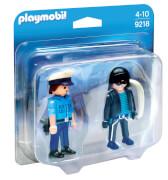 PLAYMOBIL 9218 Duo Pack Polizist und Langfinger