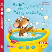 Buch ''Baby Pixi - Band 62: Baden, planschen, Haare waschen'', 16 Seiten, ab 12 Monaten